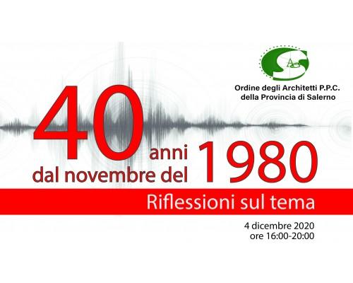 40 anni dal novembre 1980