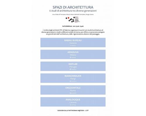 SPAZI DI ARCHITETTURA